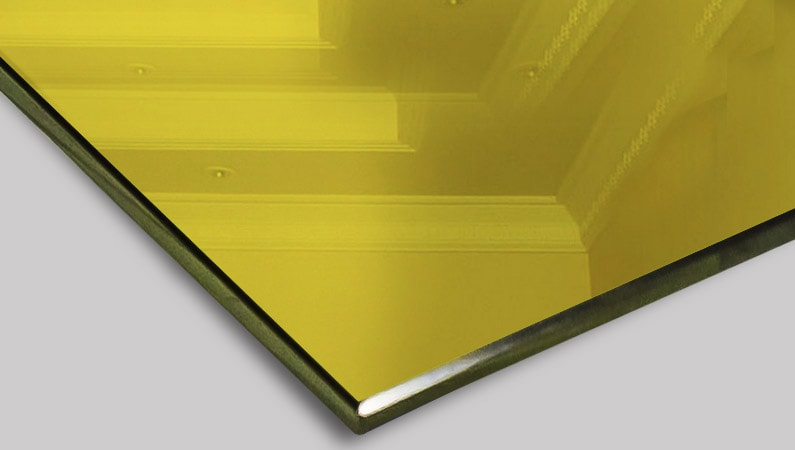 Зеркало «Yelow Gold mirror»