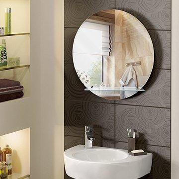 Зеркала с полками для ванной