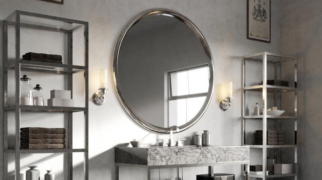 124990734f6b Овальное зеркало является традиционным атрибутом жилых помещений в  роскошных «дворцовых» стилях – барокко, ампире, ар-деко и их сочетаниях.